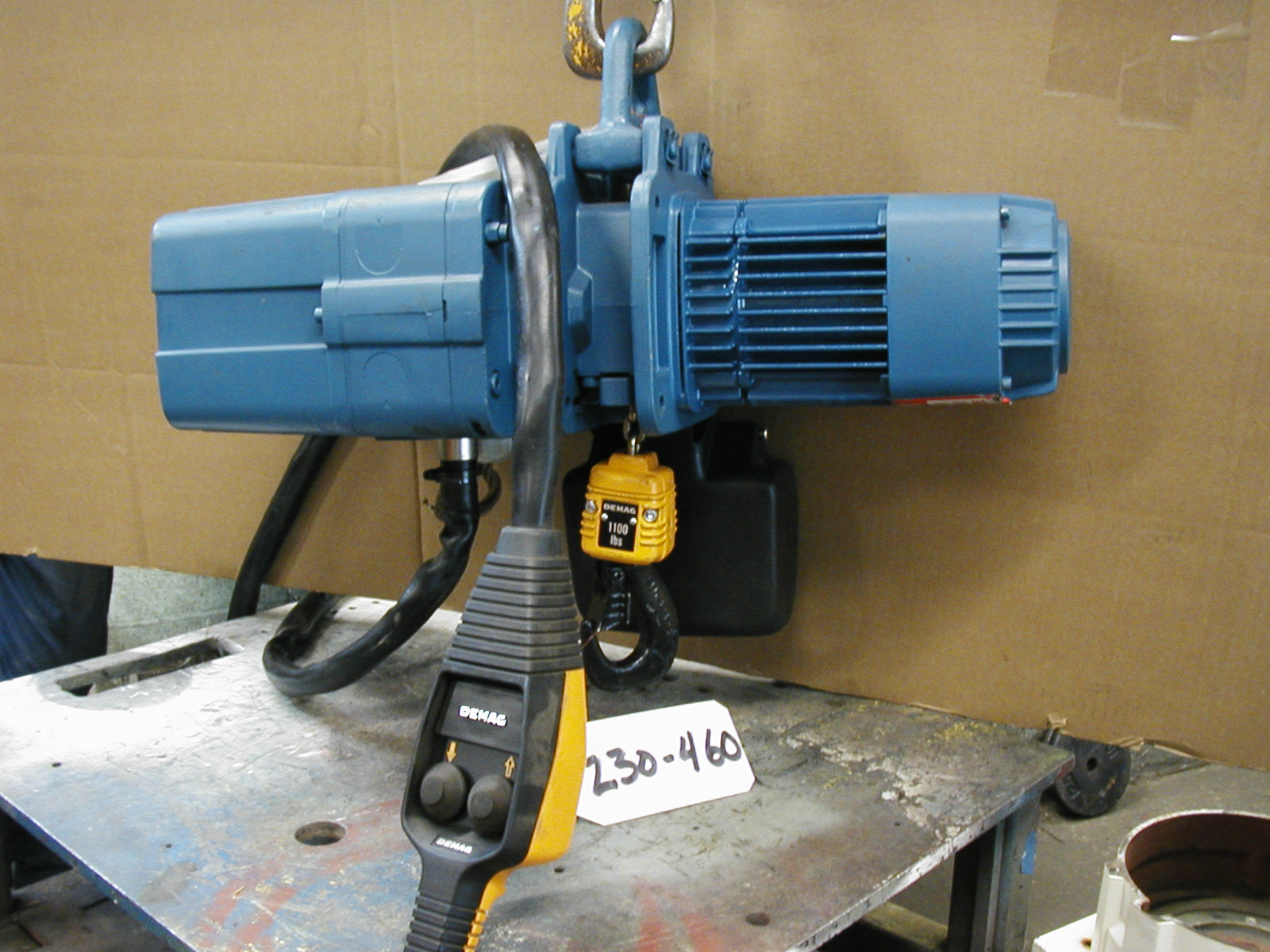 Electric Control Motor Repair Demag Dc Chain Hoist Diagram Click For Larger Image